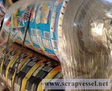 PLASTIC SCRAPS AVAILABLE IN LARGE VOLUMES